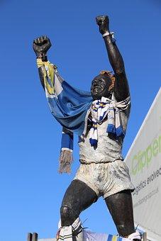 Leeds United, Billy Bremner, Statue, Elland Road, Leeds