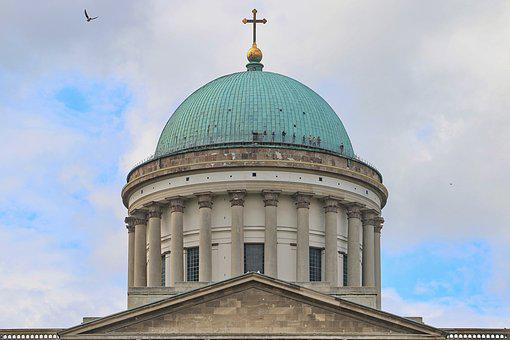 Esztergom, Basilica, Church, Cathedral, Dome, Hungary