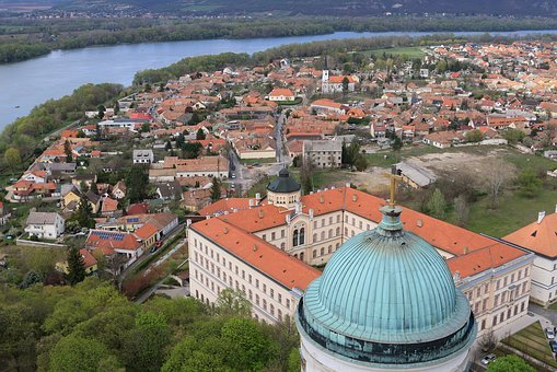 Hungary, Esztergom, Basilica, Church, Cathedral, Dome