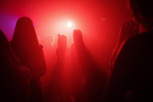 Party, Dance, Disco, Crowd, Dancing, Club, People