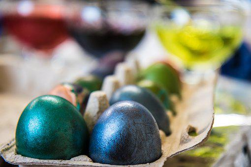 Egg, Paint, Easter, Colorful, Easter Eggs, Colored