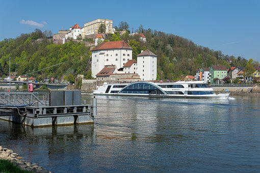 Passau, Veste Oberhaus, Lower House, Danube, Castle