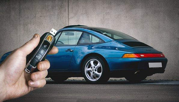 Usb, Flash-drive, Technology, Porsche, Pendrive