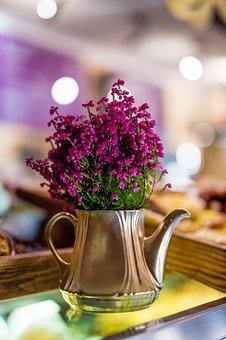 Heather, Pin, Flower, Plant, Colorful, Vase