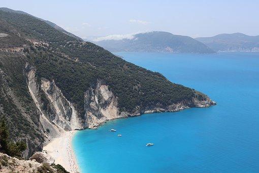 Myrthos Beach, Kefalonia, Greece, Landscape, Summer