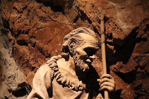 Prehistoric, Sculpture, Cave, Statue, Hunter, Historic
