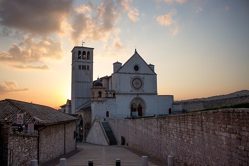 Assisi, City, Italy, Historical, Basilica