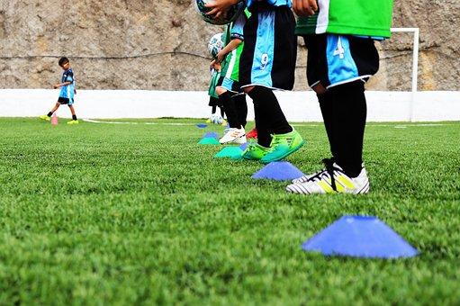 Soccer, Kids, Football, Kid, Playing, Boy