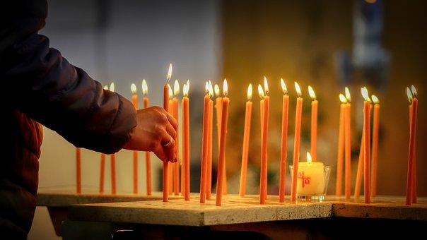 Candles, Light, Kindle, Candlelight, Burn, Heat, Lights