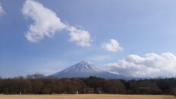 Mt Fuji, Japanese Nature, Lake, Mountain, Natural