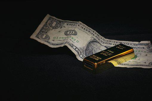 Usb, Flash-drive, Technology, Pendrive, Ingot, Gold