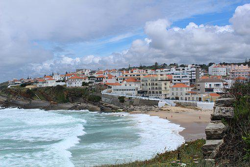 Beach, Portugal, Blue, Algarve, Sea, View, Nature