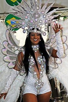 Samba, Samba Dancer, Brazil, Dance, Sexy, Pretty Woman