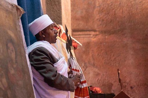 Axum, Lalibela, Religion, Priest, Christian-orthodox