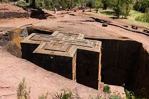 Ethiopia, Axum, Lalibela, Africa, Rock Church, Religion