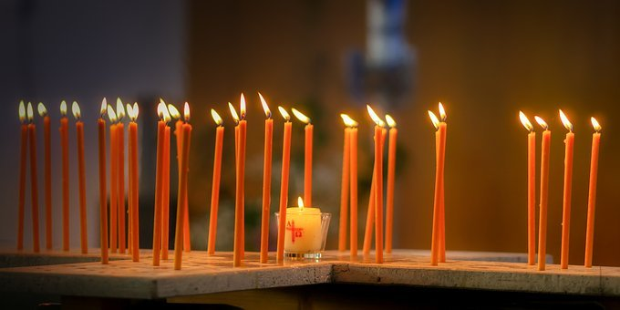 Candles, Flame, Light, Burn, Fire, Shining, Candlelight