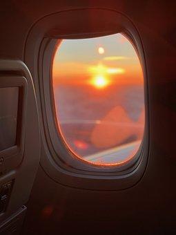 Flight, Holidays, Travel, Airport, Tourism, Sky