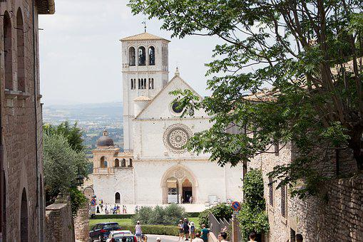 Assisi, The Basilica Of St, Francis, Saint Francis