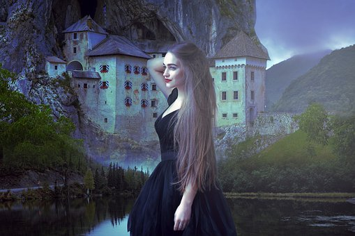 Fantasy, Gothic, Dark, Medieval, Female, Woman, Girl