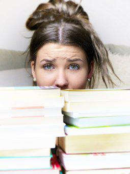 Girl, Woman, Pressure To Perform, Learn, Book, Books