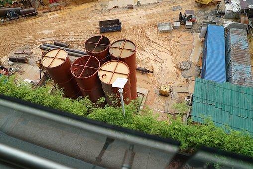 Construction Site, Asian Real Estate Development