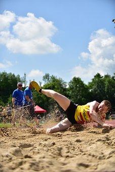 Sport, Long Jump, Competition, Athletics, Athletes