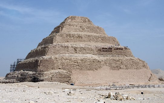 Egypt, Saqqarah, Pyramid, Djoser, Pharaoh, Tomb