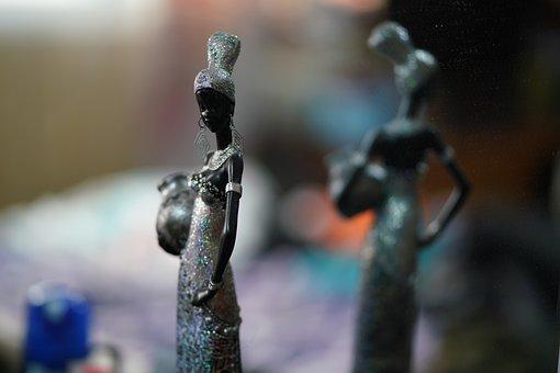 Frostbite, Female, Woman, Sculpture, Women's, Girl