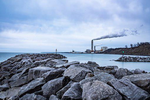 Industrial, Power Plant, Great Lakes, Milwaukee