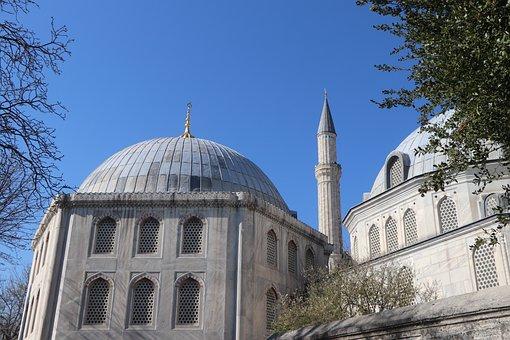 Hagia Sophia, Shrine, Cami, Minaret, Ottoman, Sultan