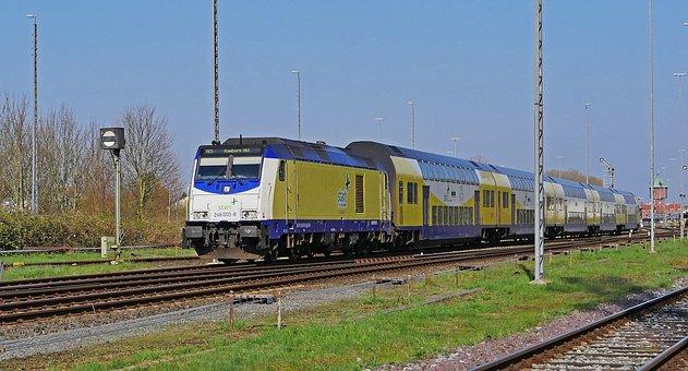 Regional-express, Railway, Private Railway, Star