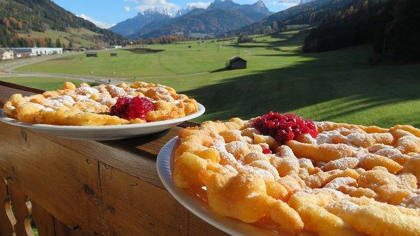 Strauben, South, Tirol, Pustertal, Val, Pusteria, Sweet
