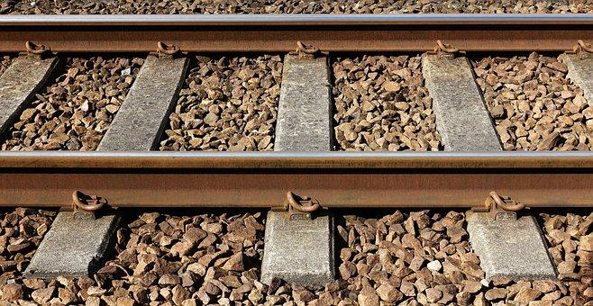 Railway, Railroad, Track, Sleeper, Ballast, Rail