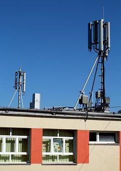 Gsm, School, The Antenna, Radiation, Safety