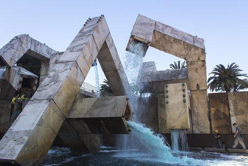 Structure, Waterfall, San Francisco, Architecture