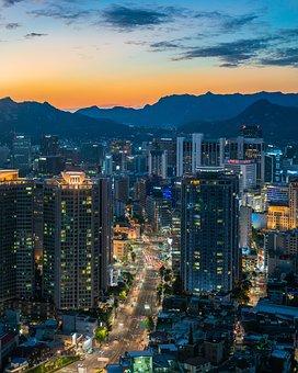 Myeongdong, Seoul, South Korea, Namsan, Namsan Tower