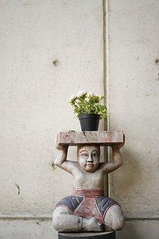 Statue, Art, Sculpture, Figure, Artwork, Talk, Budha