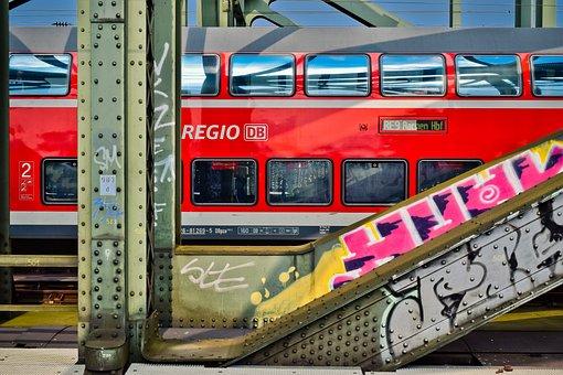 Bridge, Train, Railway, Traffic, Architecture