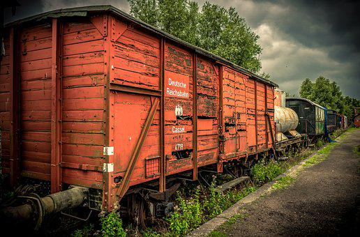 Reichsbahn, Boxcar, Dare, Railway, Rails, Transport