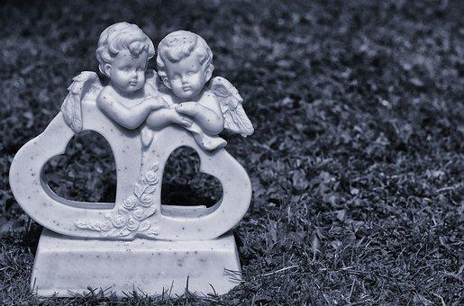 Angel, Schutzengelchen, Hope, Figure, Guardian Angel