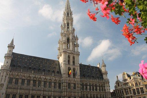 Brussels, Belgium, Architecture, Building, Europe, City