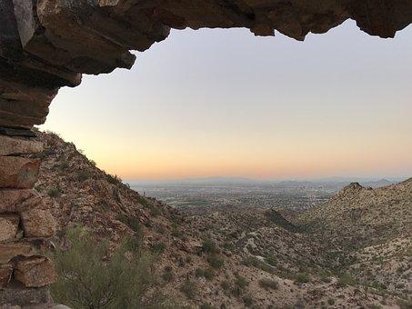 Arizona, Phoenix, South Mountain Park, Desert