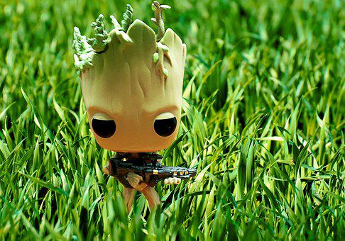 Groot, Tree, The Grassland, Model, Character
