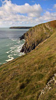 Ireland, Cliffs, Me, Sea, Landscape, Coast, Nature
