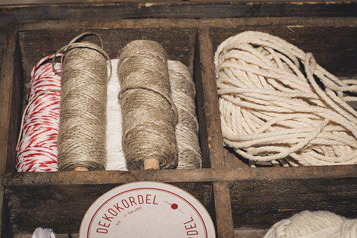 Cord, Wool, Yarn, Craft, Hobby, Creative, Material