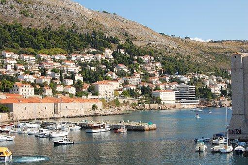 Dubrovnik, Croatia, Dalmation Coast, City, Tourism