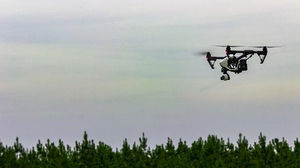 Dji, Inspire, Drone, Flight, Sky, Air, Aerial