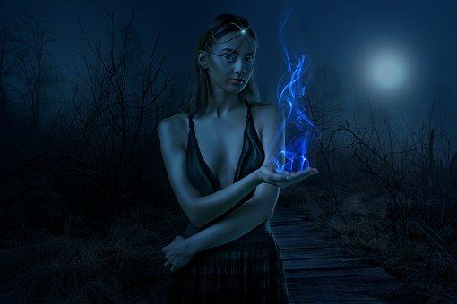 Fantasy, Dark, Gothic, Moon Queen, Female, Woman, Girl