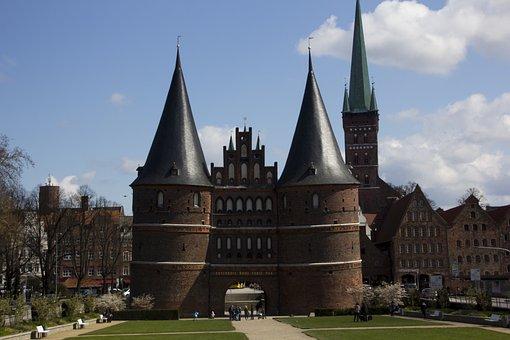 Lübeck, Holsten Gate, Landmark, Historically