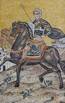 Mosaic, Church, Orthodox, Christianity, Historically